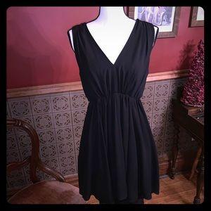 EXPRESS Sleeveless open back Dress